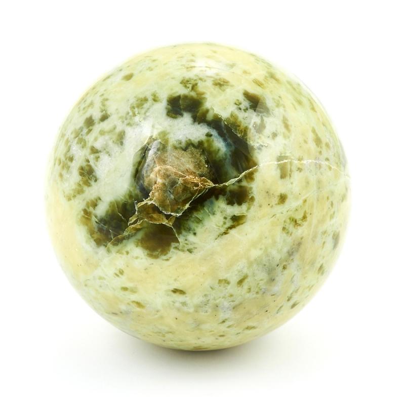 Шар офиокальцит 5 см шар жадеит 4 5 см
