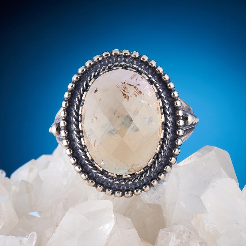[del] Кольцо аметрин Бразилия огранка (серебро 925 пр.) размер 22