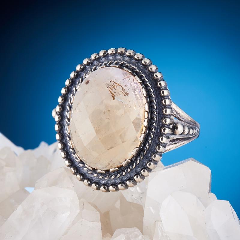 [del] Кольцо аметрин Бразилия огранка (серебро 925 пр.) размер 15,5