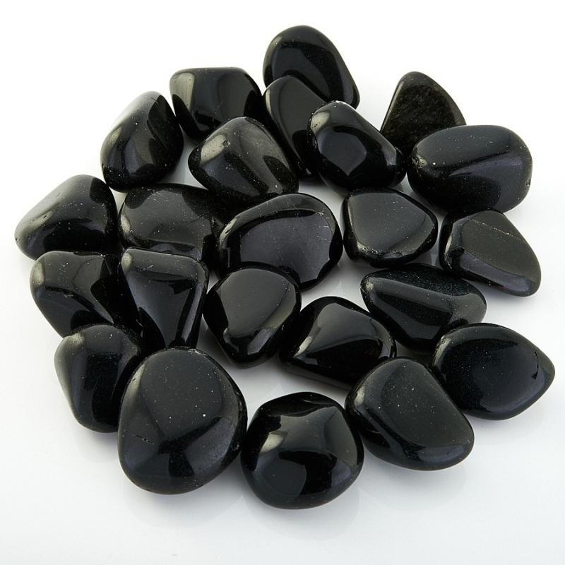 Черный обсидиан  (2-2,5 см) 1 шт