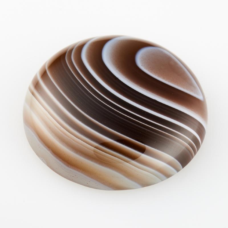 Кабошон агат серый Ботсвана 20 мм