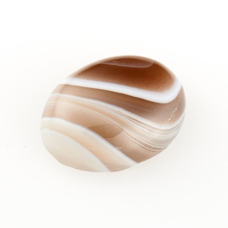 Кабошон агат серый  8*10 мм